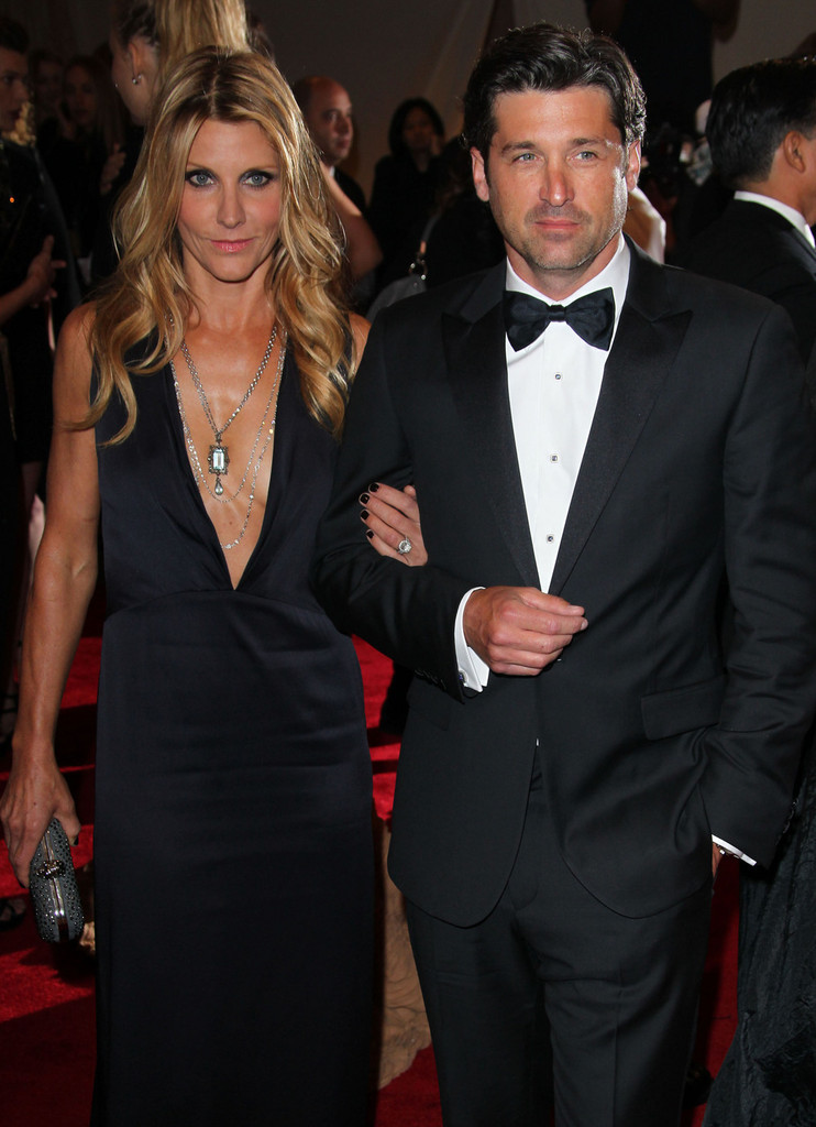 Its The Mcdreamy Effect Patrick Dempsey And Wife Jillian Have