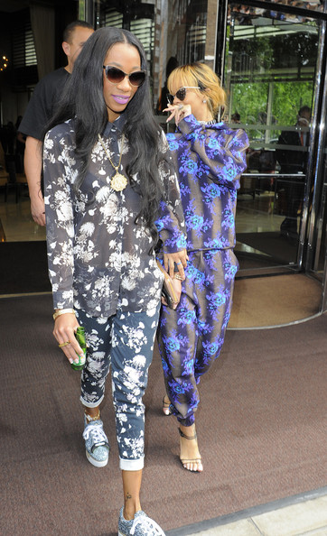 rihanna and melissa forde out in london in this photo rihanna melissa. Cars Review. Best American Auto & Cars Review