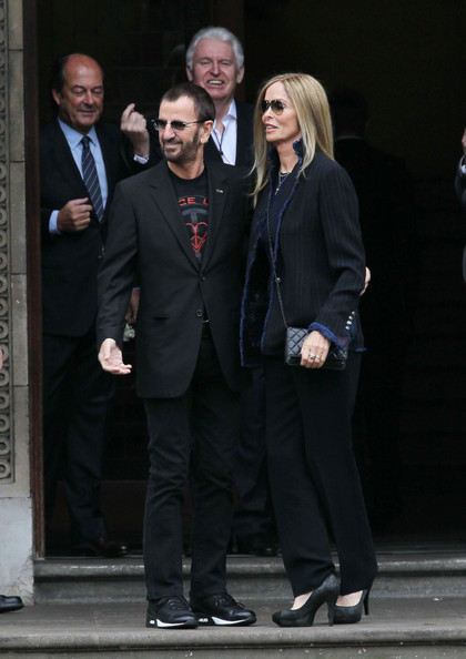 Ringo Starr and wife Barbara Bach show their support at ...