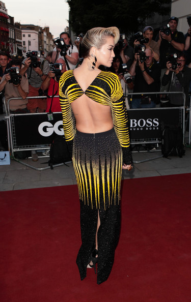Rita Ora - Red Carpet at the GQ Men of the Year Awards — Part 2