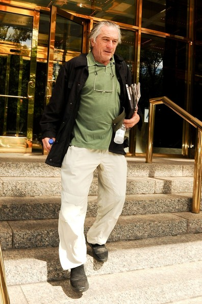 Robert De Niro Leaves Trump International Hotel []