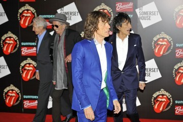 Mick Jagger Charlie Watts The Rolling Stones Celebrate 50 Years Together