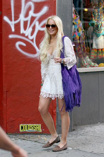 Lindsay Lohan Out in NYC 2