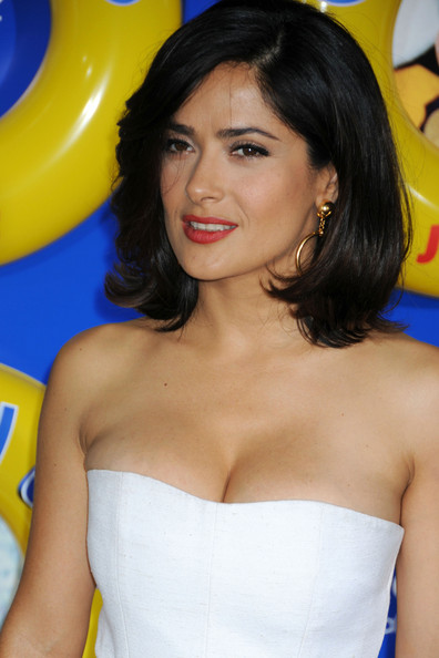 salma hayek grown ups black dress from. girlfriend salma hayek grown