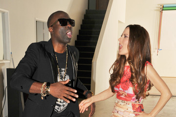 Sam Sarpong Sam Sarpong and Kerri Kasem Pose in LA
