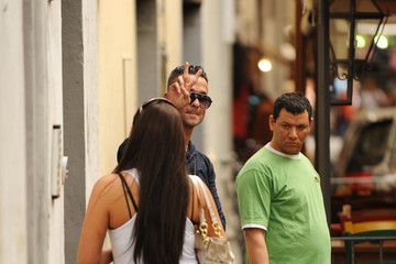 "Michael ""The Situation"" Sorrentino 'Jersey Shore' Stars in Florence"