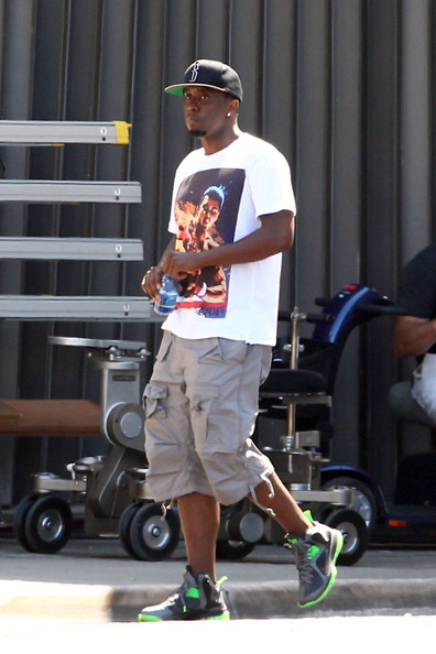 Sean Combs - Stars on the Set of 'Pain and Gain'