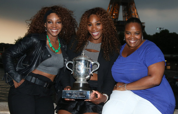 Photo of Venus Williams & her Sister  Isha Price