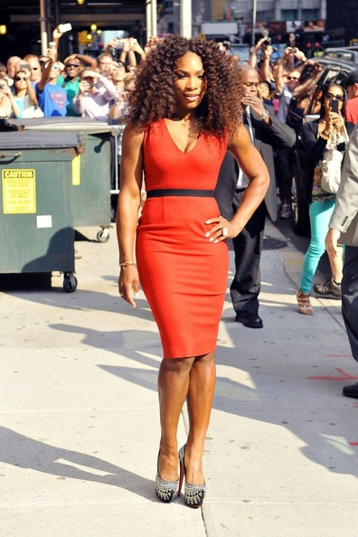 Serena Williams - Serena Williams in Red
