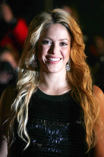 Shakira Shakira arriving on the red carpet ahead of France's NRJ Music Awards.