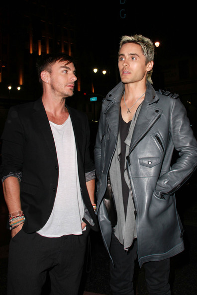 Shannon at katsuya in this photo jared leto shannon leto jared leto
