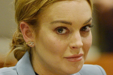 Shawn Chapman Holley Lindsay Lohan at Her Probation Hearing 3