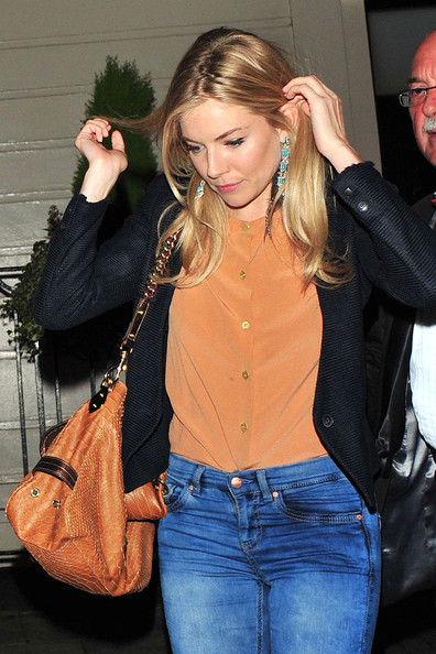 Sienna Miller Sienna Miller leaving the Theatre Royal in Central London