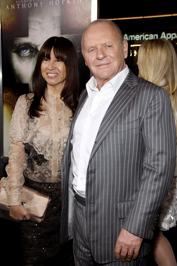 Stella Arroyave and Sir Anthony Hopkins Photos Photos ...