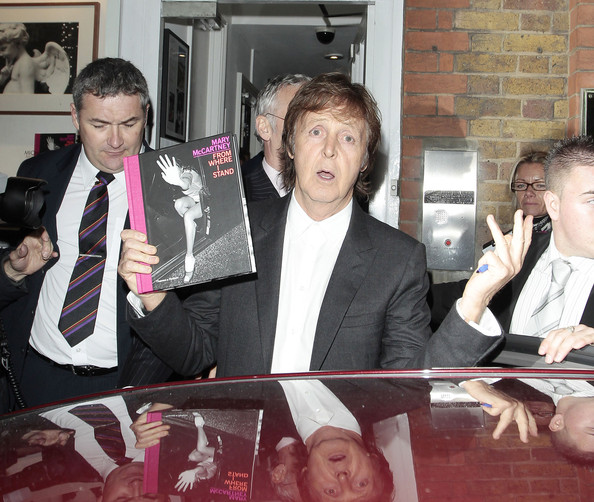Paul McCartney At His Daughters Book Launch