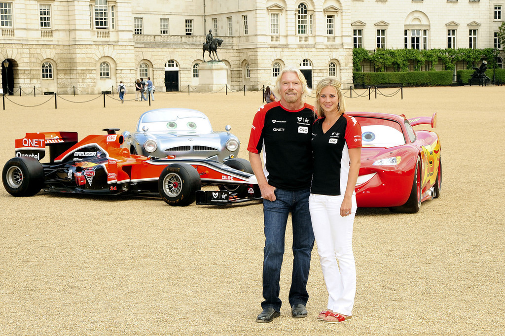 Sir Richard Branson and Holly Branson Promote 'Cars 2 ...