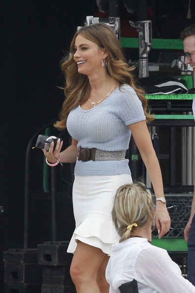 Sofia Vergara Photos Photos Heat Films In New Orleans
