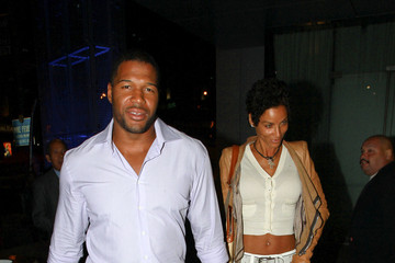Michael Strahan Nicole Murphy Kris Humphries at BOA Steakhouse