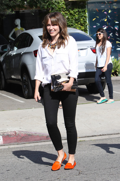 Sophia Bush and new boyfriend Dan Fredinburg are all smiles as they set out around Los Angeles.