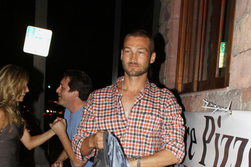 Andy Whitfield Andy Whitfield at Spanish Kitchen in LA