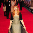 Francis Fisher Stars at the London Premiere of 'Titanic 3D'