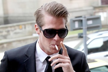 Jonas Erik Altberg DJ Basshunter at Kirkcaldy Sheriff Court 2