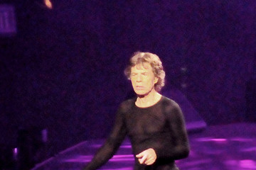 The Rolling Stones Mick Jagger Rolling Stones Perform in LA