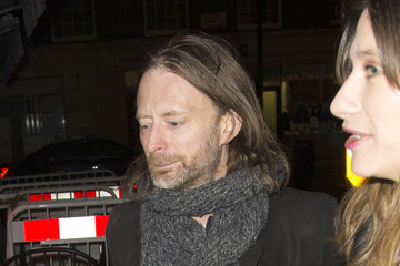 Thom Yorke Celebs Leaving the 'Cloud Atlas' Premiere After Party in London