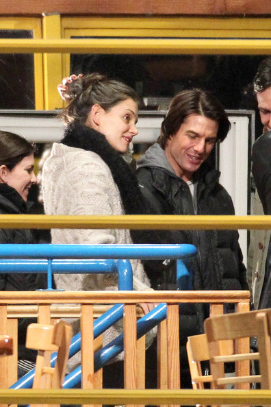 tom cruise mission impossible 1. Tom Cruise and Family on Set
