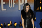 Amal Fashanu attends the premiere of 'Life Of Pi' held at the Empire Cinema, Leicester Square in London, England.