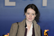 Claire Foy attends the premiere of 'Life Of Pi' held at the Empire Cinema, Leicester Square in London, England.