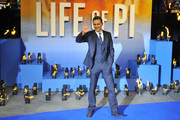 Tom Hiddleston attends the premiere of 'Life Of Pi' held at the Empire Cinema, Leicester Square in London, England.