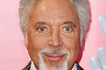 Tom Jones Celebs Celebrate 'The Voice UK' Launch