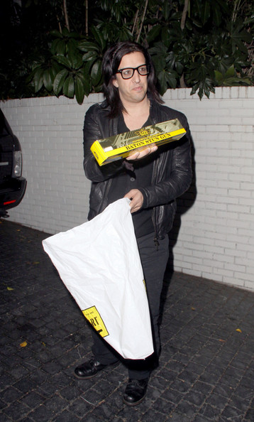 Stars at Marilyn Manson's Birthday at Chateau Marmont