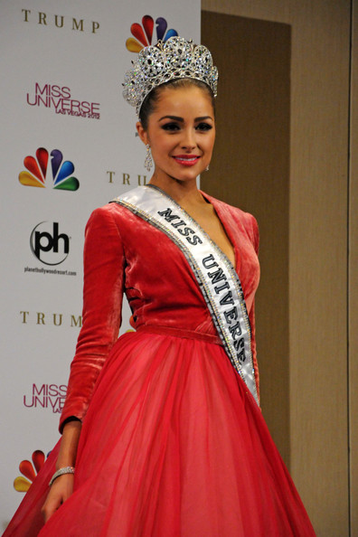 USA's Olivia Culpo is crowned Miss Universe 2012 at the Planet Hollywood Resort and Casino in Las Vegas