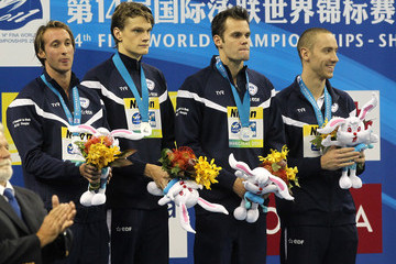 Gregory Mallet USA Swim Team Compete in China