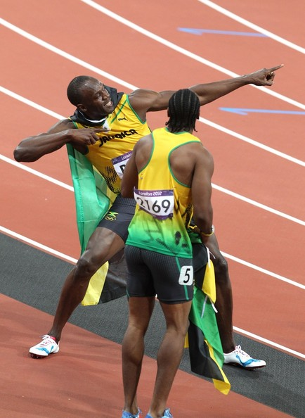 Usain Bolt of Jamaica wins the gold medal in the 100m during the London 2012 Summer Olympics
