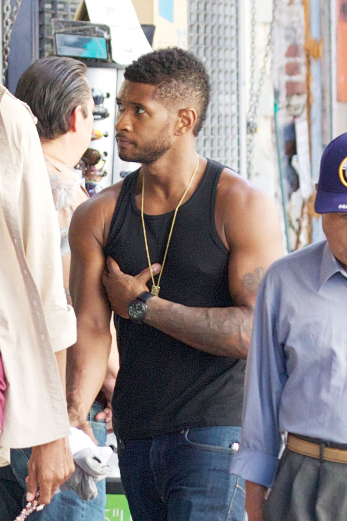 Usher Photos Photos Usher Spotted In La Zimbio