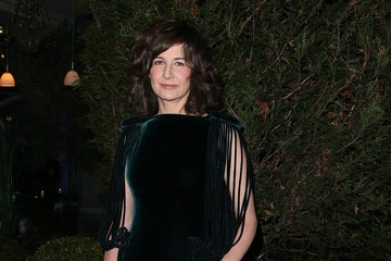 Valerie Lemercier Celebs at the Sidaction Gala Dinner in Paris