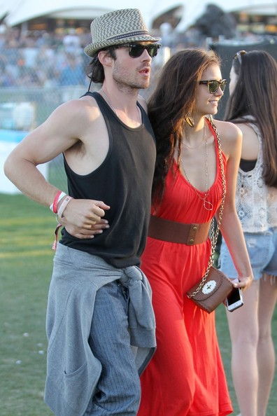 is nina dobrev dating ian somerhalder in real life Nikki reed posted an instagram photo tuesday of herself with her husband ian somerhalder and his ex nina dobrev life support could be on real.