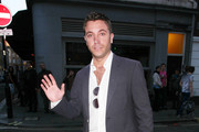 Gino D' Acampo attending A Midsummer Night's Dream Party at Diu Soho.