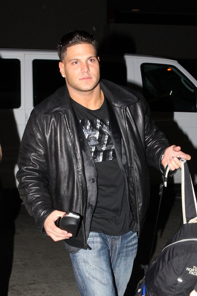jersey shore ronnie beats up mike. quot;Jersey Shorequot; Cast at LAX