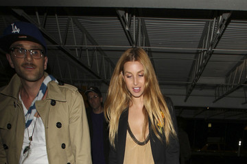 "Ben Nemtin Whitney Port and Ben Nemtin Arriving at ""Beachers Madhouse"""