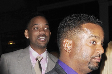 Will Smith Alfonso Ribeiro Celebs Support Trey Smith's London DJing Gig — Part 2