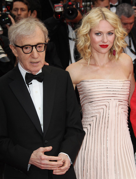 Woody Allen and Naomi Watts at the 'You Will Meet a Tall Dark Stranger' Screening []