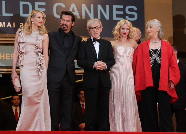 Woody Allen and Naomi Watts at the 'You Will Meet a Tall Dark Stranger' Screening