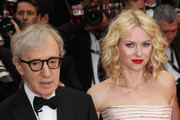 Woody Allen and Naomi Watts at the 'You will meet a tall dark stranger' screening during the Cannes Film Festival held at the Palais des Festivals on the famous Croisette.