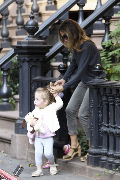Sarah Jessica Parker and Tabitha out in NYC