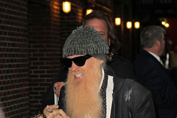 ZZ Top Billy Gibbons Out in NYC
