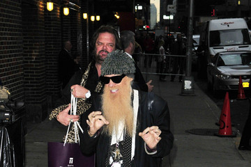 ZZ Top Billy Gibbons Heads to 'Letterman' in NYC